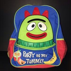 Yo Gabba Gabba Brobee Backpack